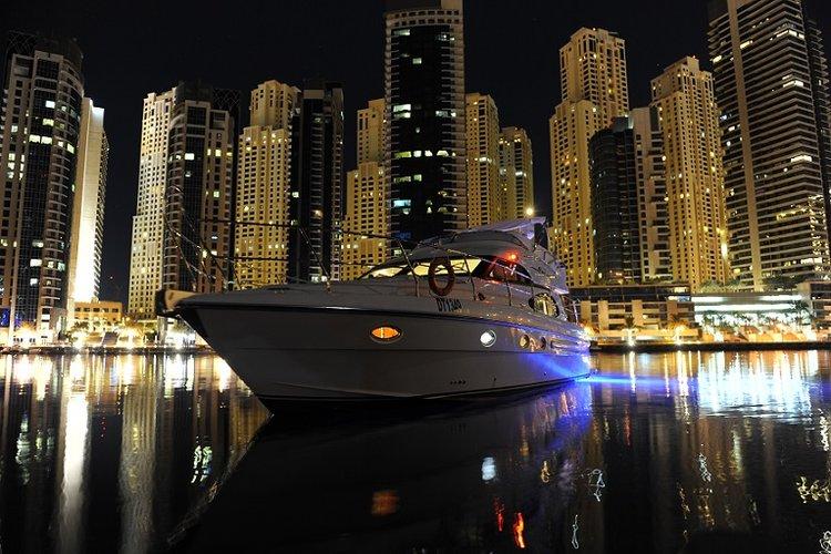 Yacht at the Marina
