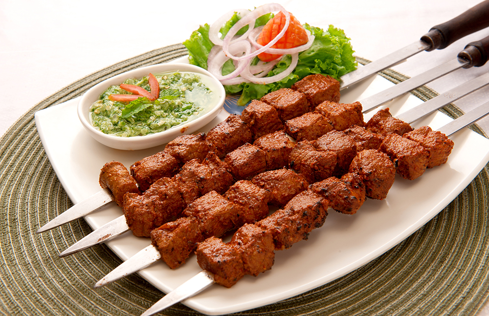shutterstock_223265590 - Meat Skewers